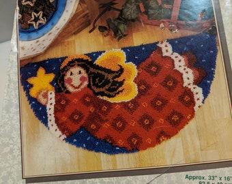 you supply latch hook precut yarn Caron International 12 X 12 Frog Prince Latch Hook Kit directions WonderArt #4811 chart canvas