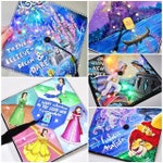CUSTOM GRADUATION CAP - Disney Handpainted - With or Without Lights