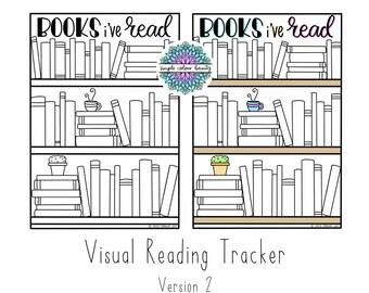PRINTABLE: 'Books I've Read' Reading Tracker