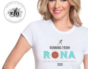 Quarantine Running | Quarantine 2020 | Stay Home | Running Shirt | For the Socially Distant Athlete | Social Distance Workout Shirt