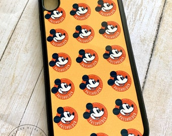 Passholder Phone Case | IPhone XS Plus Case | IPhone 8 | Galaxy S9 Plus Case | Disney Inspired | Personalized Phone Case