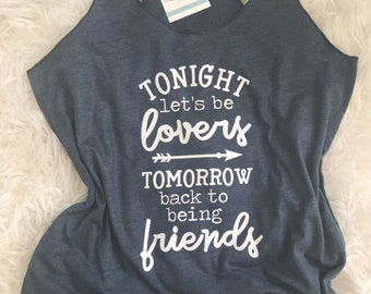 DMB Dave Matthews T-Shirt | Tour Shirt | Celebrate We Will | Tonight Lets Be Lovers | Tomorrow Friends | Say Goodbye | Concert Shirt