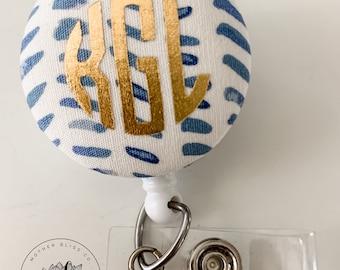 Rifle Paper Co - Rosa Hunter | Fabric Interchangeable Badge Reel