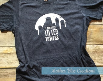 I Survived The Tilted Towers Shirt | Fortnite Shirt Boy Gamer