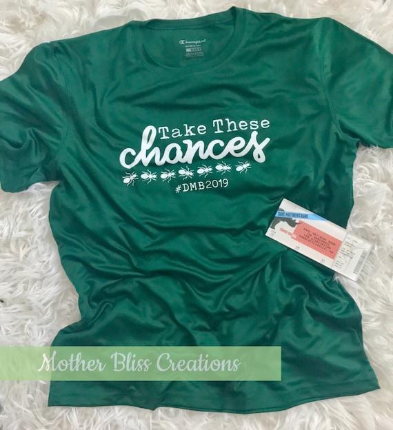 DMB Dave Matthews Band T-Shirt | Take These Chances | Ants Marching Lyrics | Tour Shirt | | Concert Shirt | Dave Matthews