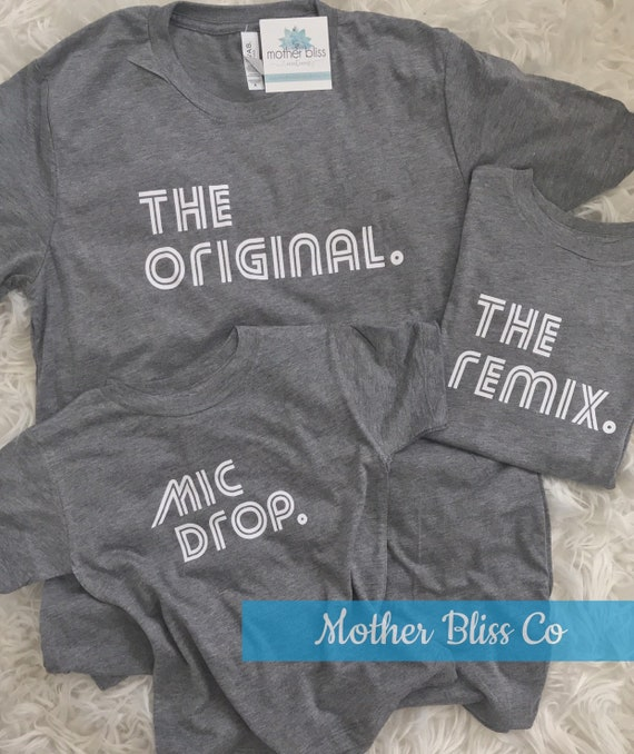 Family Matching T-Shirt Set Original | Father Son | Fathers Day | Mom Dad Brother Sister Matching Set Baby | Family