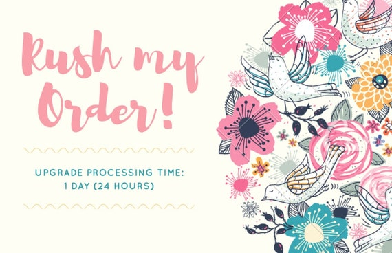 Rush Order (Expedite Production)