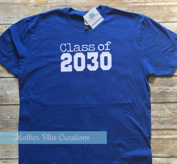 Class Of Back to School Shirt | Grows with child | Can Be Personalized with name | Grow with me shirt | Back to school photo prop