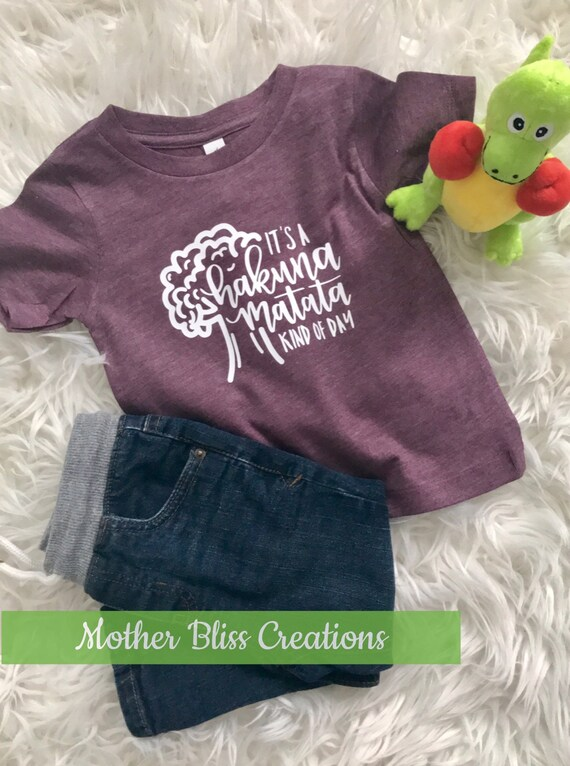 Hakuna Matata Kind of Day T-Shirt   Animal Kingdom Theme   Toddler Shirt   Funny Baby   Disney Family Shirt   Mickey Mouse   Marching Shirts