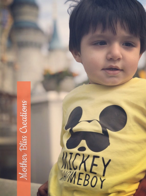 Mickey Is My Homeboy T-Shirt   Baby Talk   Toddler Shirt   Funny Baby   Disney Family Shirt   Mickey Mouse   Mickey Clubhouse Homeboy
