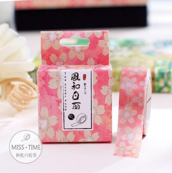 Sakura Washi Tape Japanese Washi Tape Washi Tape Etsy