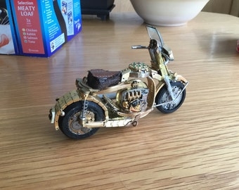 Motor Bike, Watch Parts and Some 3D Printing
