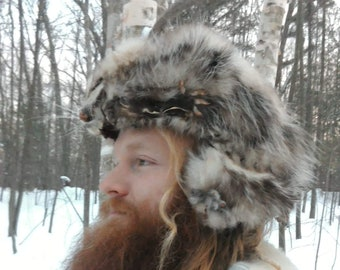 2793e04deae Mountain Man Hand Made Possum Fur Hat