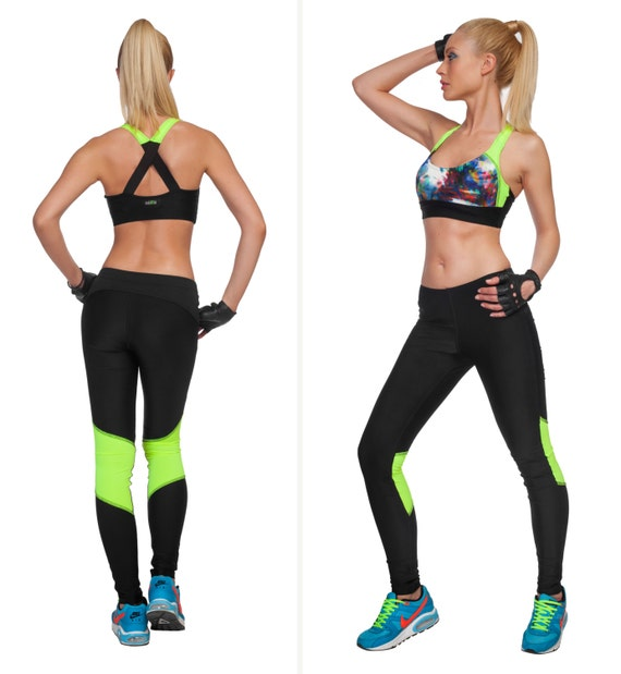 7633f64b5d6 Womens Leggings Workout Leggings Gym Leggings Plus Size