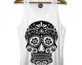 2aa45eb57f2061 Black Candy Skull Men VEST Hipster Swag SINGLET Tank Top Stringer Dope  Street Summer Vest PP97
