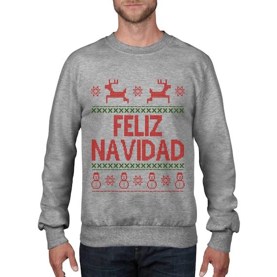 Geek Christmas Jumper.Feliz Navidad Christmas Jumper Rude Geek Christmas Sweatshirt Funny Sweater Top Xmas Card Gift Wine Holiday Season Ch17
