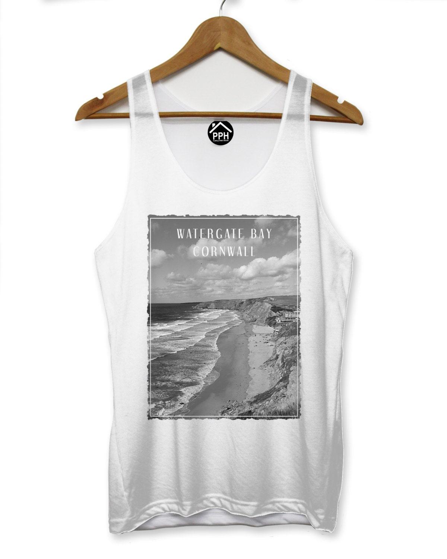 Watergate Bay Cornwall Weste Surf Herren Unterhemd ärmelloses | Etsy