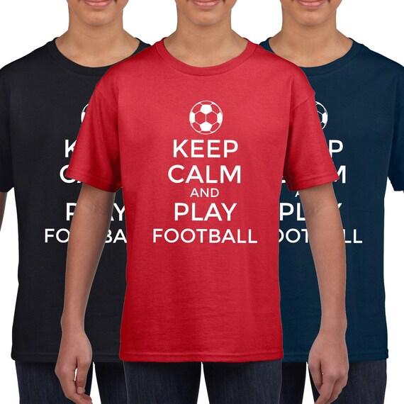 Señoras Camiseta Keep Calm y Soporte Rumanía fútbol para mujer