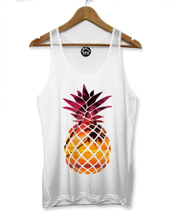 ananas tropical homme gilet hipster swag fruits singulet rue etsy. Black Bedroom Furniture Sets. Home Design Ideas