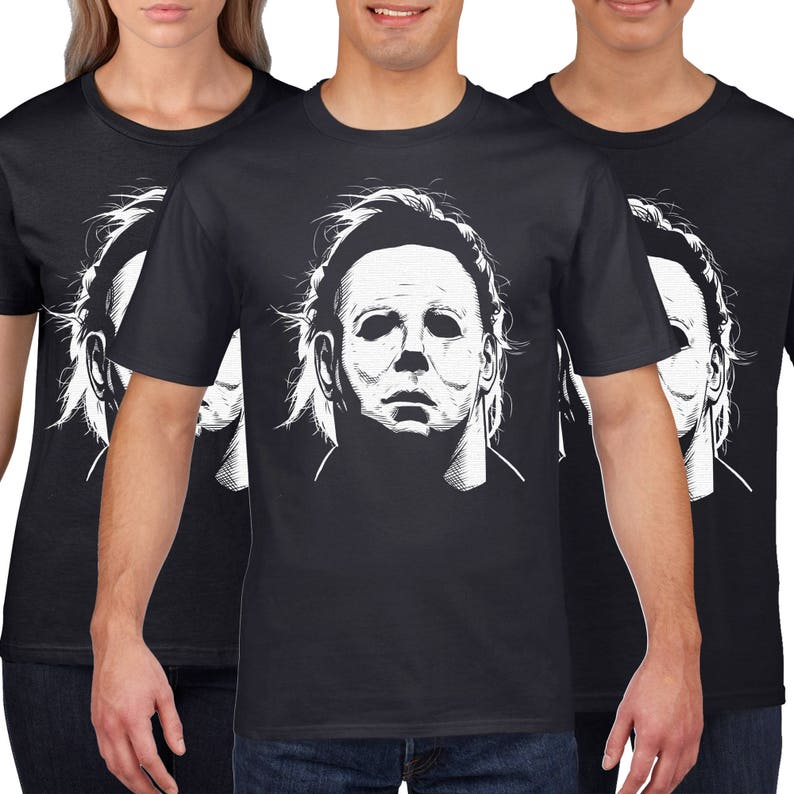 73b584880440 Mike Myers T Shirt Halloween T Shirt Scary Horror Movie