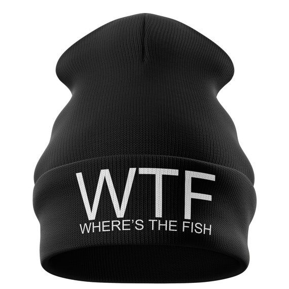 14702218297 Fishing Gifts for men WTF Wheres the Fish Funny Fishing