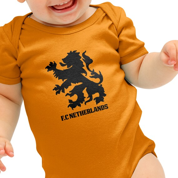 Netherlands Football Shirt Holland Top Baby Grow Romper Suit Babygrow Gift B40