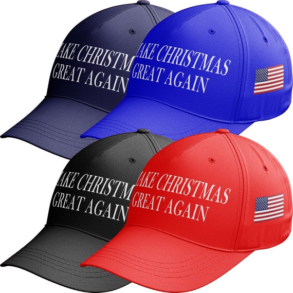 989fd6010dd70 Make Christmas Great Again Baseball Cap Make America Great