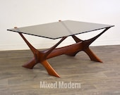 Teak Coffee Table by Fredrik Schriever Abeln