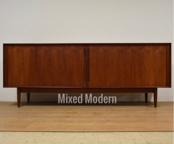 Danish Modern Buffet Credenza : Modern buffet sideboard credenza sold out mid