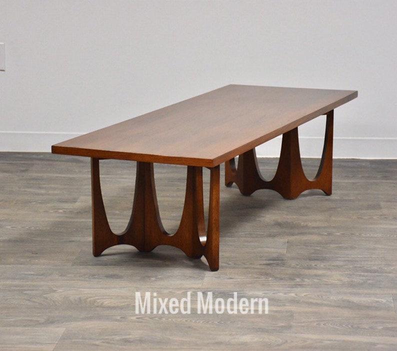 Astounding Broyhill Brasilia Walnut Coffee Table Uwap Interior Chair Design Uwaporg
