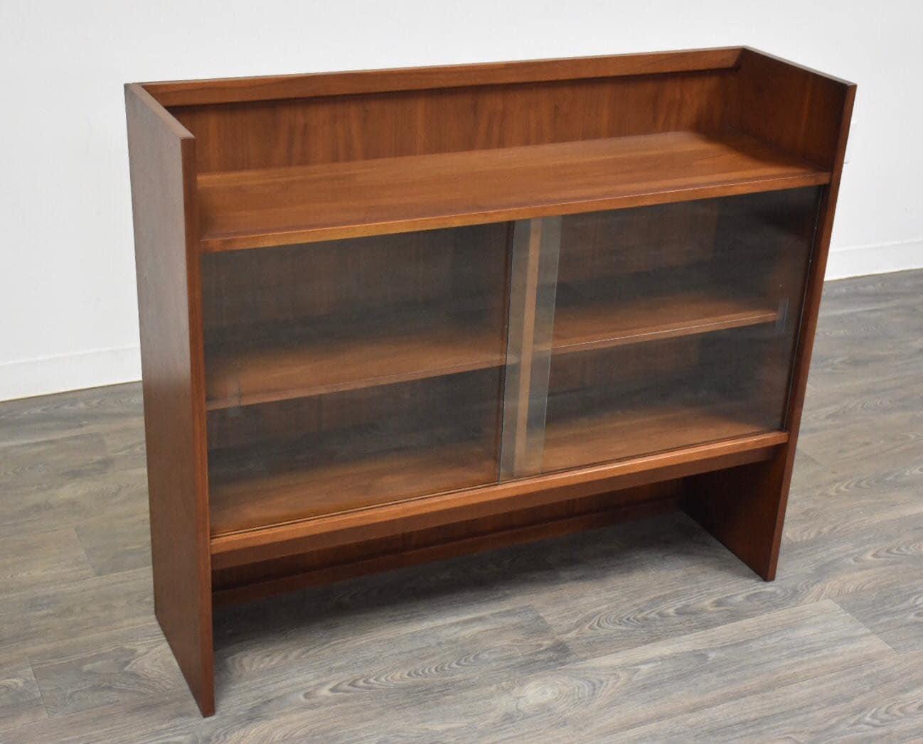 Mid Century Walnut Bookcase
