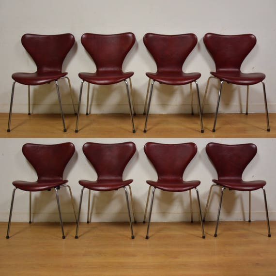 Magnificent Red Leather And Chrome Dining Chairs Set Of 8 Gmtry Best Dining Table And Chair Ideas Images Gmtryco