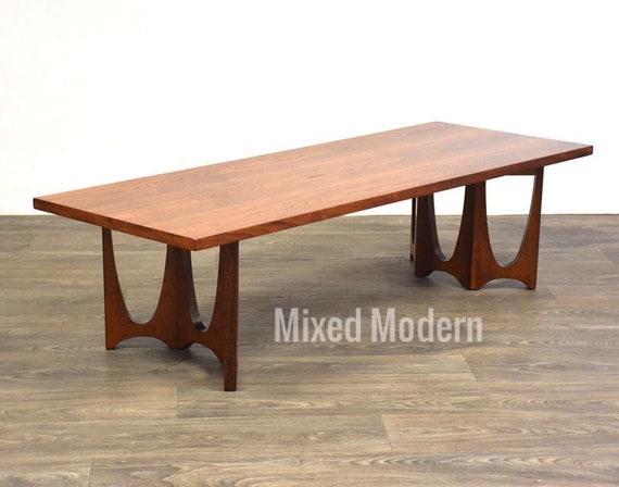 Superb Broyhill Brasilia Walnut Coffee Table Uwap Interior Chair Design Uwaporg