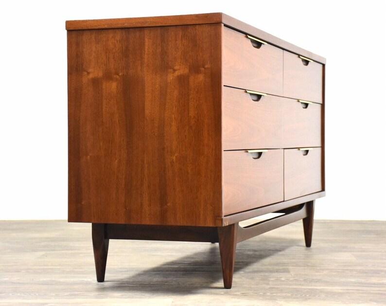 Kent Coffey Tableau Walnut Dresser