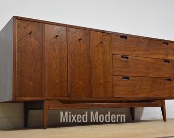 Walnut Dresser by American of Martinsville