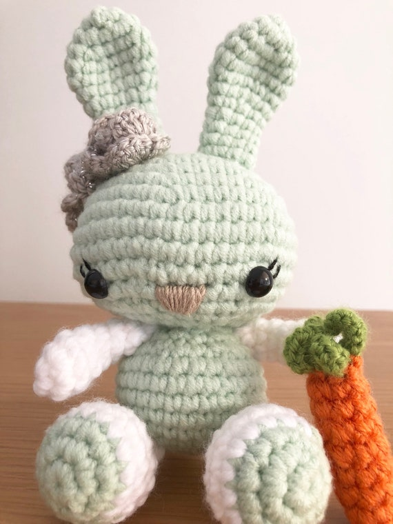 Amigurumi Spring Bunny in Dress Free Crochet Pattern - Amigurumi ... | 760x570