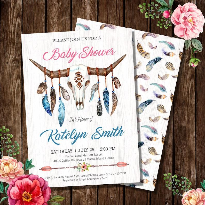 BabyShower  Invitation Card