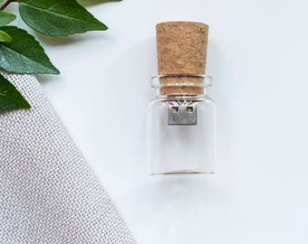 10x 4gb Glass Bottle USB drive