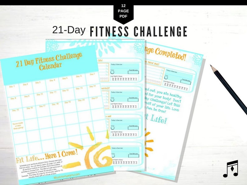 photo relating to Fitness Planner Printable referred to as Conditioning Planner, Evening meal Planner, Printable, Day-to-day Planner, Summer time, Exercise,Exercise, Temper Tracker, Evening meal Magazine, Body weight Decline
