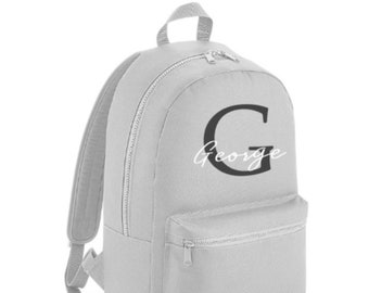 Personalised Name Kids Backpack 7e0fd0a1800db