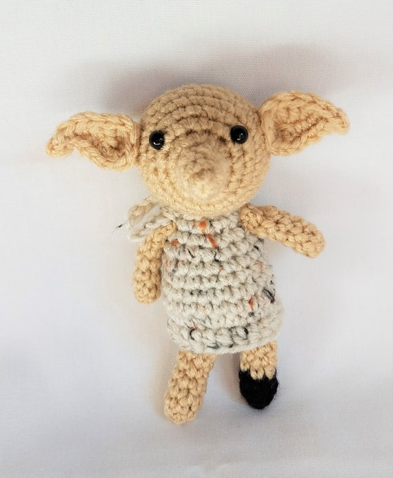 Dobby The House Elf Tiny Inspired Crochet Amigurumi Etsy