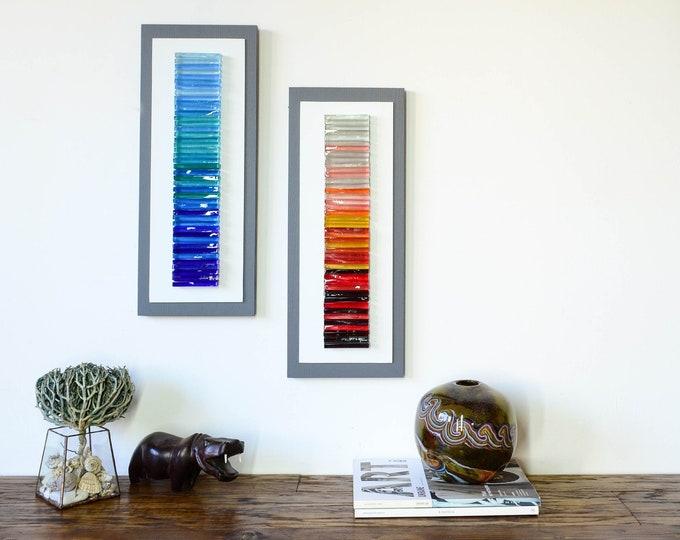 3d Wall Art Sculpture Glass, Fused Glass Artwork Wall