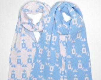 Transgender Equality Symbol Scarves - Dot Knits Ethically Handmade Knitwear