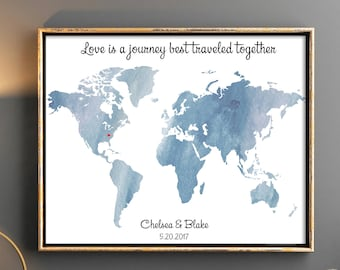 Printable guest book Any color Wedding map Guest book world map Map guest book Wedding guest book ideas unique wedding guestbooks travel map