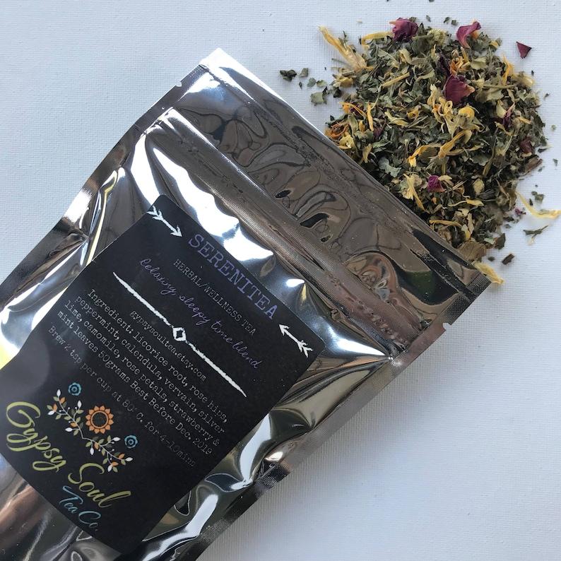 Sleepy Time Tea Camomile Mint Tea All Natural Herbal Tea Caffeine Free Tea