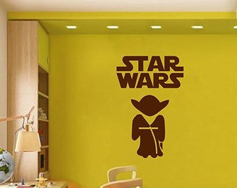 Try Not Do Or There is No Master Yoda Star Wards Vinyl Wall Decor Art Decal I05