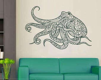 Marvelous More Colors. Octopus Wall Decal Kraken ...