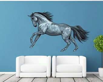 Wall Sticker Mural Decal Vinyl Decor Horse Beautiful Creature Picture Tribal