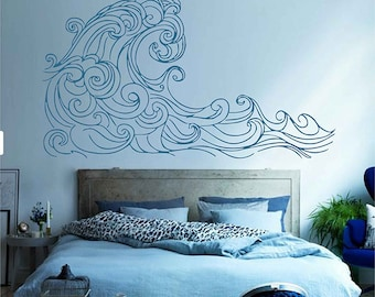 Ocean Wall Decals Etsy