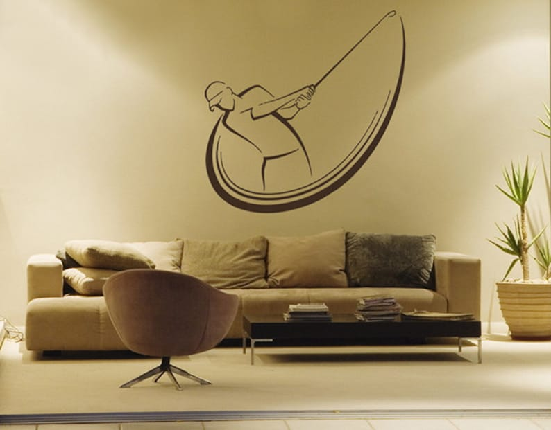Golfer Wall Decal by ArtWallStickers